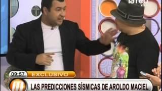Las predicciones sísmicas de Aroldo Mac...