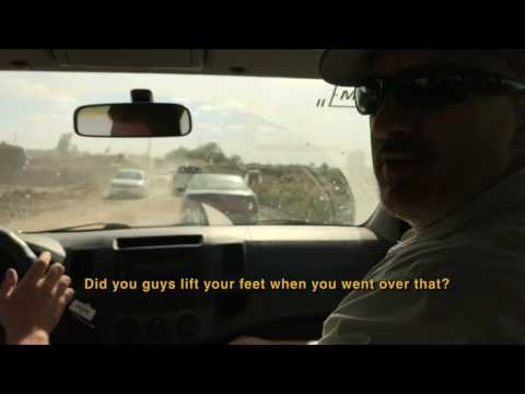 Video: A surreal road-trip into a war zone in West Mosul, Iraq