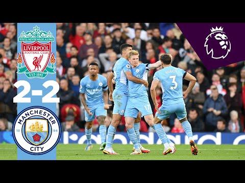 HIGHLIGHTS | Liverpool 2-2 Man City | Foden, De Bruyne, Mane, Salah | Premier League