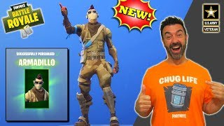 Fortnite Father - ARMADILLO skin & Playing with Friends