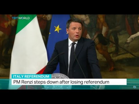 Italy Referendum: PM Renzi steps down after losing referendum