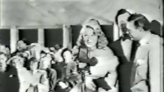 Newsreel - Betty Hutton at The Emperor Waltz Premiere (1948)
