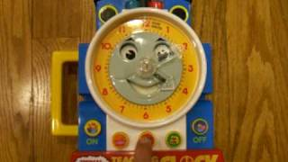 Thomas The Train - Teaching Clock