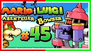 MARIO & LUIGI: ABENTEUER BOWSER # 45 🐲 Gigantenkampf gegen den Pilzpalast! [HD60]