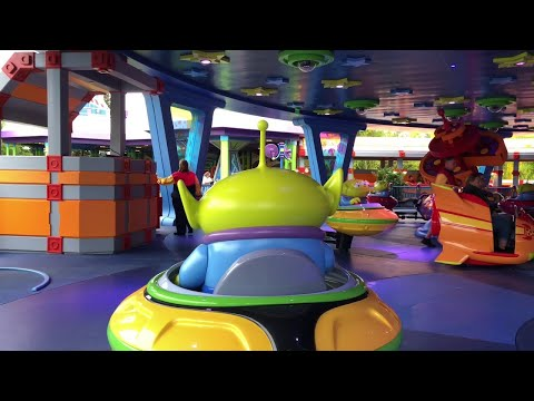 Alien Swirling Saucers POV Ride – Toy Story Land at Disney's Hollywood Studios