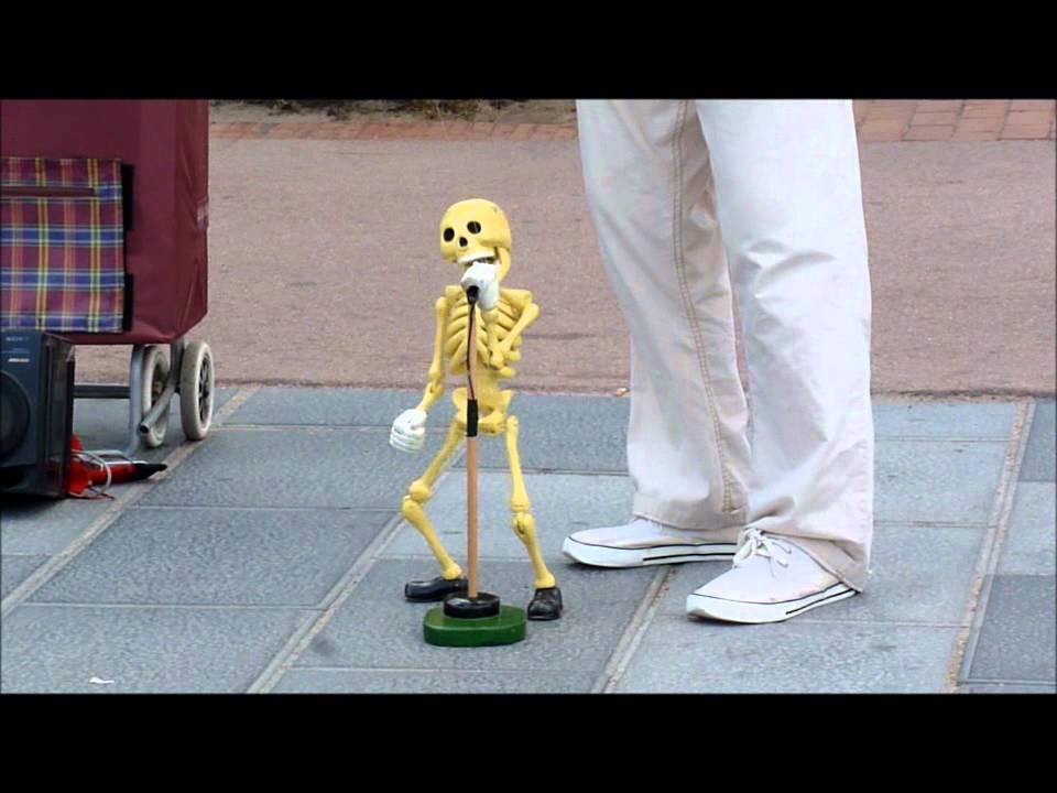Marioneta Esqueleto Youtube