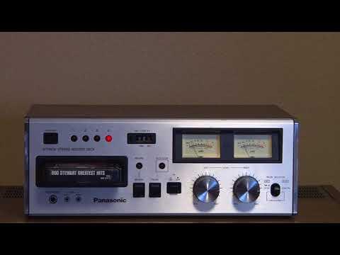 Panasonic RS-808 8 Track Stereo Tape Deck, for sale on eBay, November 8, 2017