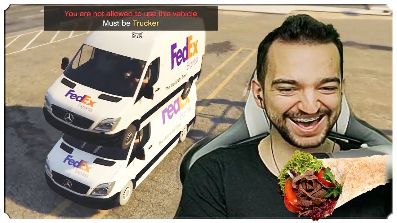 GTA Online MOD FiveM – PRAWDZIWE ŻYCIE KURIERA! /Pavel