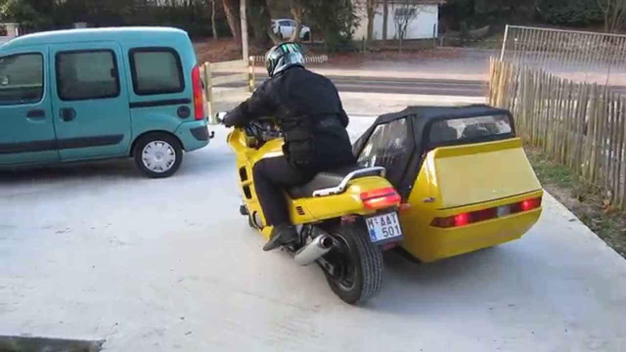 Mad Max Car For Sale >> CBR1000f + CJS Fox II (almost) ready to go - YouTube