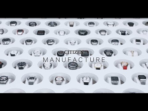Manufacture Of CITIZEN