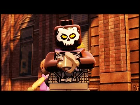 LEGO MARVEL AVENGERS - Cross Bones Free Roam Gameplay (Civil War DLC)