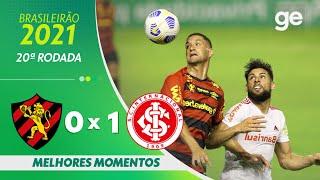 Спорт Ресифи  0-1  Интер Порту-Алегри видео