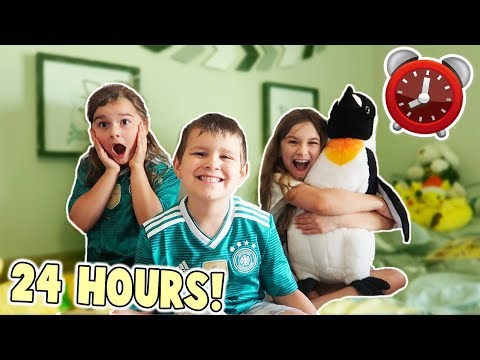 24 HOURS IN OUR BROTHER'S ROOM! | JKrew