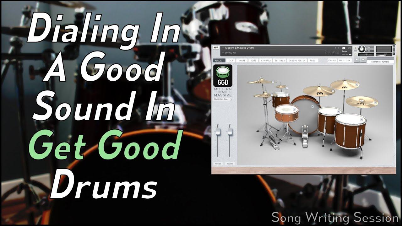Dialing in a good sound in Get Good Drums