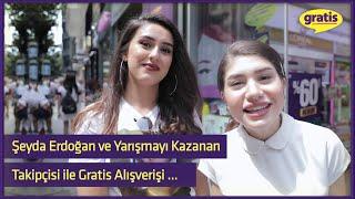 Şeyda Erdoğan ve Yarışmayı Kazanan Takipçisi ile Gratis Alışverişi