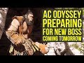 Assassin's Creed Odyssey DLC - PREPARING For New Boss That Releases Tomorrow (AC Odyssey DLC)