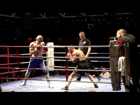 IBA Boxing - Danny Palmer v Lee Cage - Circus Tavern 2015