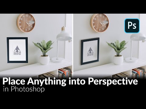 How to Place Anything into Perspective in Photoshop