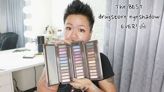 The Best Drugstore Eyeshadow EVER! 超值Absolute New York眼影盤試色心得
