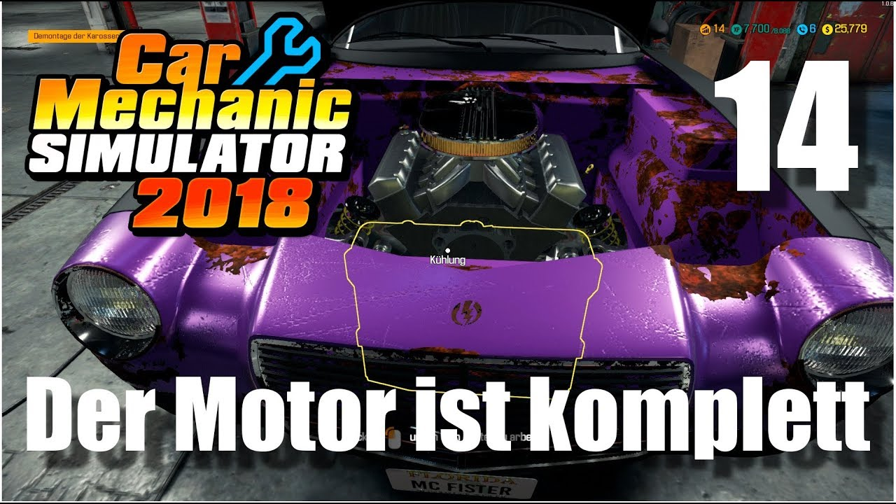 Auto Werkstatt Simulator 2018 ▻ CAR MECHANIC SIMULATOR Gameplay #14 ...