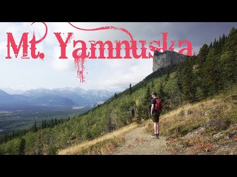 Hiking Mount Yamnuska | Canada Travel Vlog