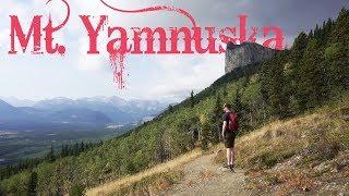 Hiking Mount Yamnuska | Canada Travel Vlog
