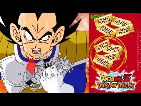 I FINALLY GOT HIM! 12 GUARANTEED SSR TICKETS! 2ND YEAR ANNIVERSARY WT REWARDS | DBZ Dokkan Battle