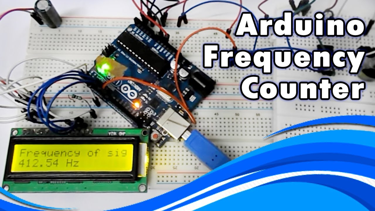 Arduino Frequency Counter  YouTube