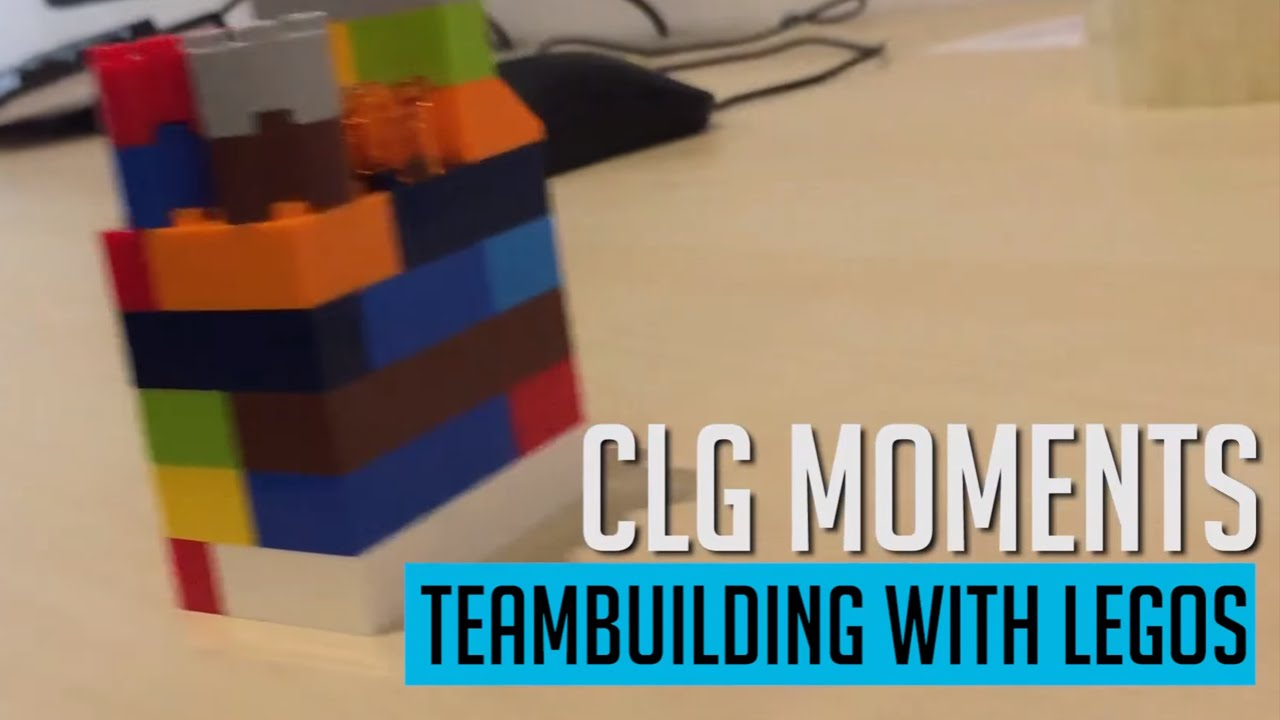 CLG Moments: Teambuilding with Legos