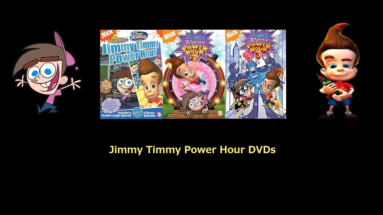 jimmy timmy power hour dvds youtube