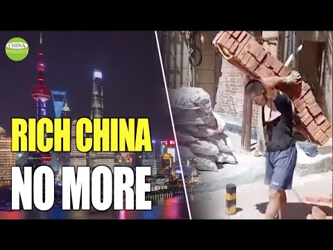 China: Increasing poor population cause Inadequate domestic spending power & Government debt crisis