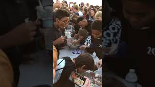 The most epic ice cream eating contest! 92118 day!