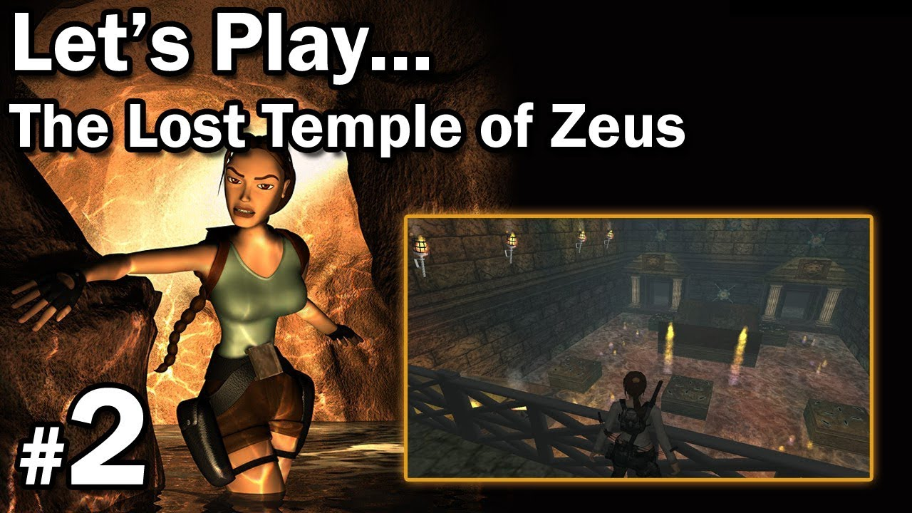 "Let's Play: [TRLE] The Lost Temple of Zeus odc. 2 – LvL 2 [1/1] – ""Troll dzbanki"""