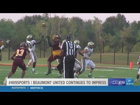 Beaumont United High School Beats Nederland 35 - 10