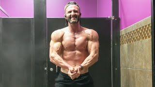 Flexing physique update - in planet fitness SARMs pre-workout