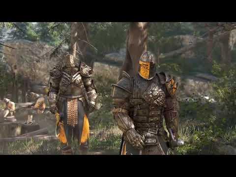 Суровая средневековая война трех фракций  Исторический игровой фильм    For Honor 720p