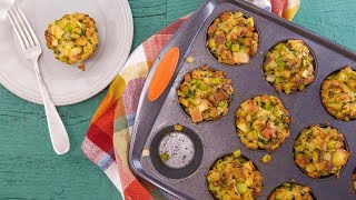 Thanksgiving Stuffing Muffins  Rachael Ray Show