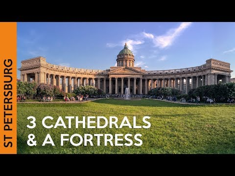 Kazan Cathedral, Peter and Paul Fortress & St Isaac's Cathedral | ST PETERSBURG, Russia (Vlog 4)