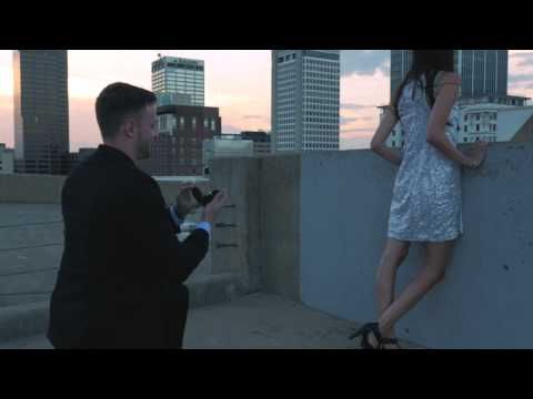 A Surprise Proposal Shot as an Explosive Action Film