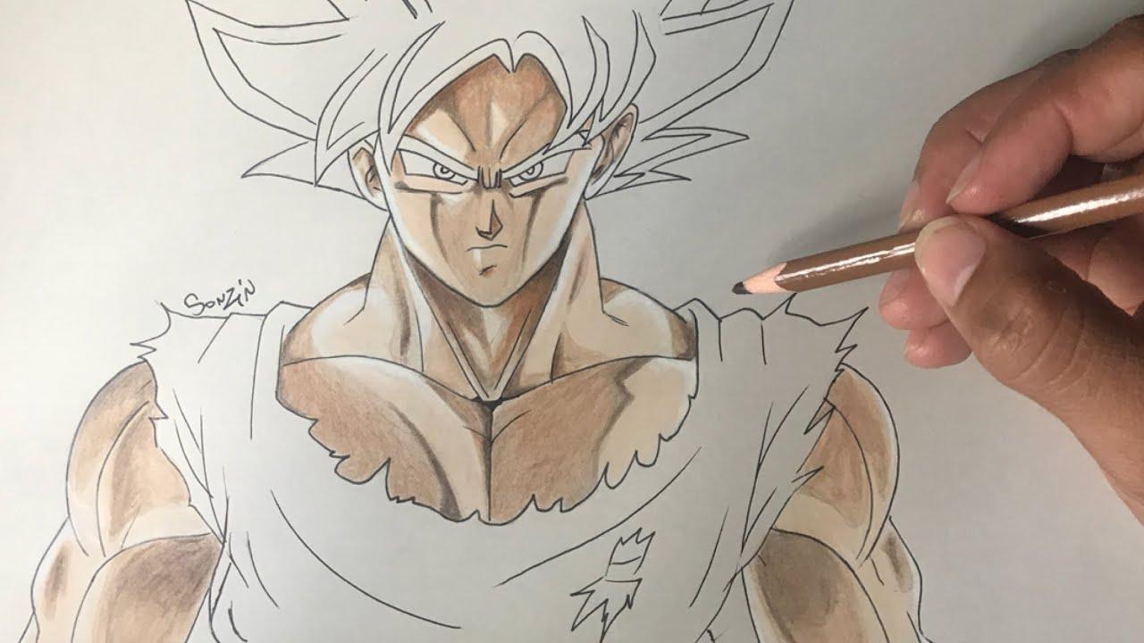 Desenhos Para Colorir Do Goku Ultra Instinto