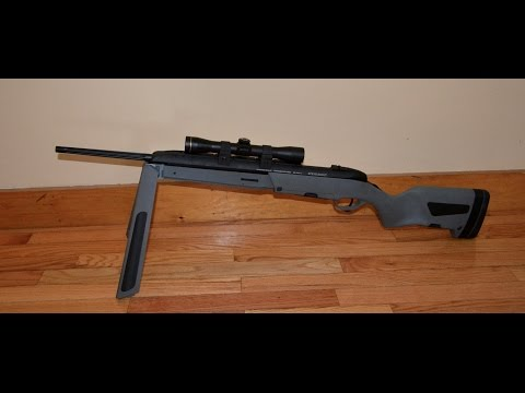 Steyr Scout Bolt Action Rifle in 308 Winchester