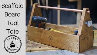 Scaffold Board Tool Tote