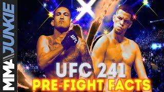 UFC 241 pre-fight facts: Anthony Pettis vs. Nate Diaz