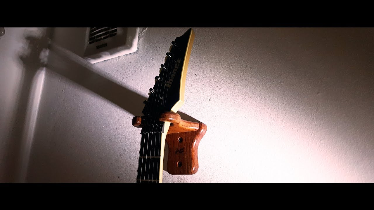 how to make a guitar hanger