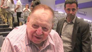Sheldon Adelson promotes respect for fallen Jewish-defenders