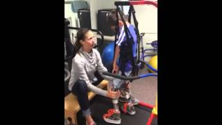 Arthrogryposis: Treadmill Training, Owen