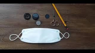[행복한자작나무] 숨쉬기 편한 밸브 마스크 만드는법