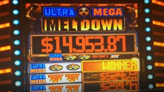 Akafuji Slot JACKPOT on LIVE★Ultra Mega MeltDown Dollar Slot Max, Lion