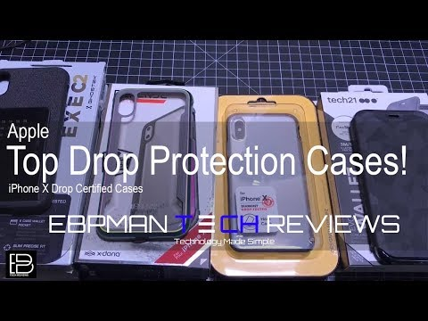 Top Apple iPhone X Cases with Drop Protection Certification