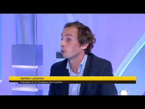 Interview de Gatien LETARTRE (TrainMe) par Alain Marty / BUSINESS 365